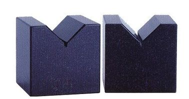 Cina Granit V Blok Untuk Coaxality Cylindricity, Precision V Blocks Granite Customized Dimension pabrik